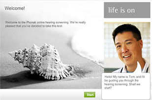 Free Phonak Hearing Test