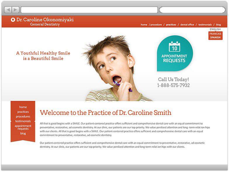 Custom Dental Websites, Internet Marketing & Notifications