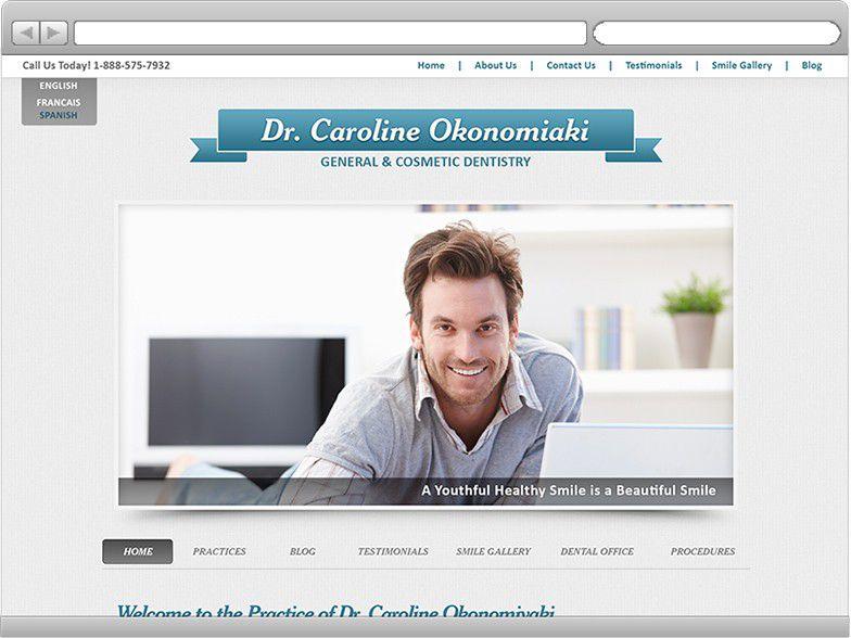 Dental Website Design Custom Dental Design Bitebank Media Mesmerizing Dental Office Website Design